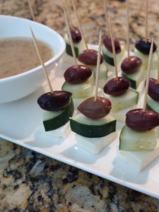 easy-to-make appetizers, easy appetizers, appetizers, skewers