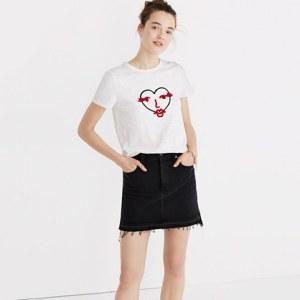 Graphic Tees | Fashionista | Fashion Tees | Hearts | Madewell