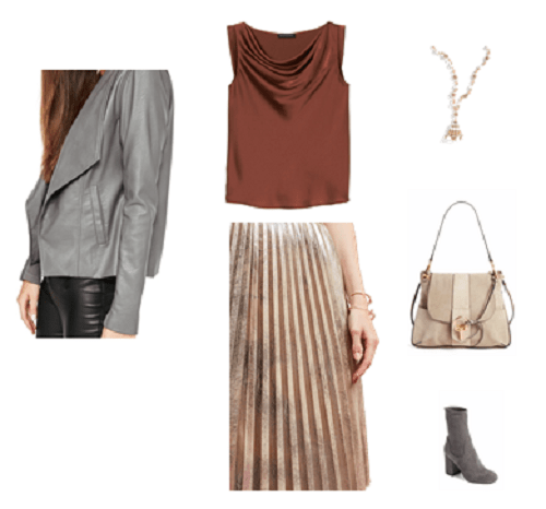Metallics | Casual Outfit | Fall 2017 Trends
