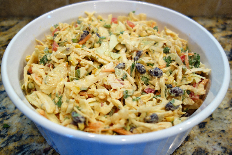 Mexican Cole Slaw   Easy Side Dishes