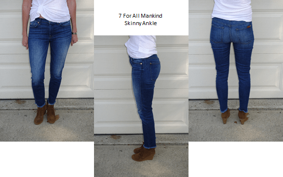 Fitcode | Best Fitting Pair of Jeans | Jeans That Fit | 7 For All Mankind Skinny Ankle