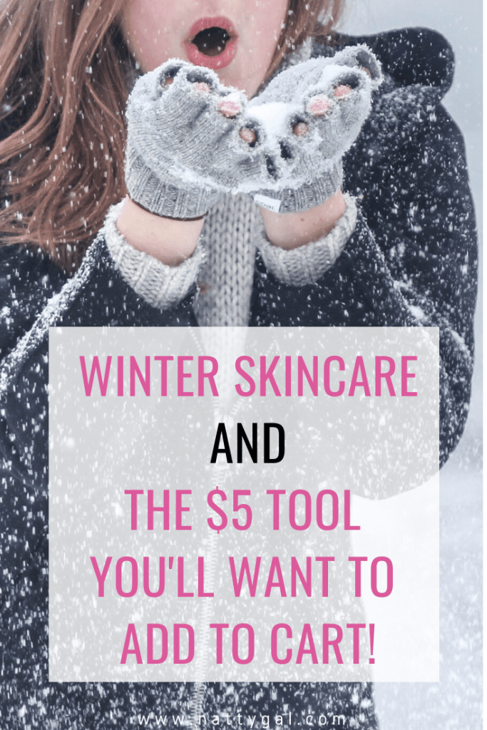 Winter can be brutal on sensitive skin!  So today I'm sharing some winter skincare faves along with a fantastic $5 tool that you'll want to Add to Cart! 🛒