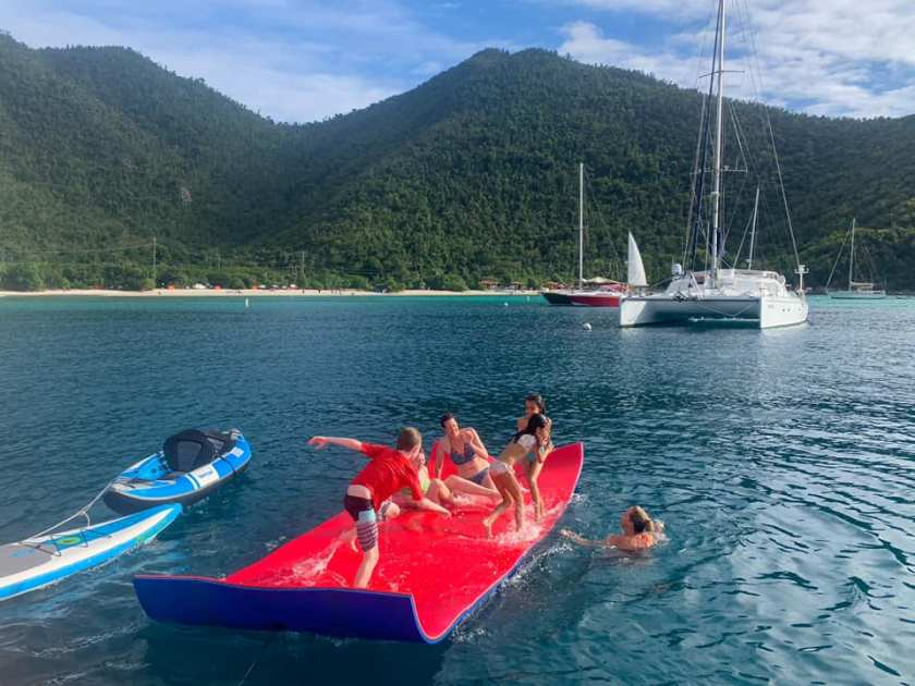 Covid Safe Travel | We're ALL looking for COVID safe travel options these days.  A private crewed sailing charter with Nauti Cat is the solution you've been looking for!