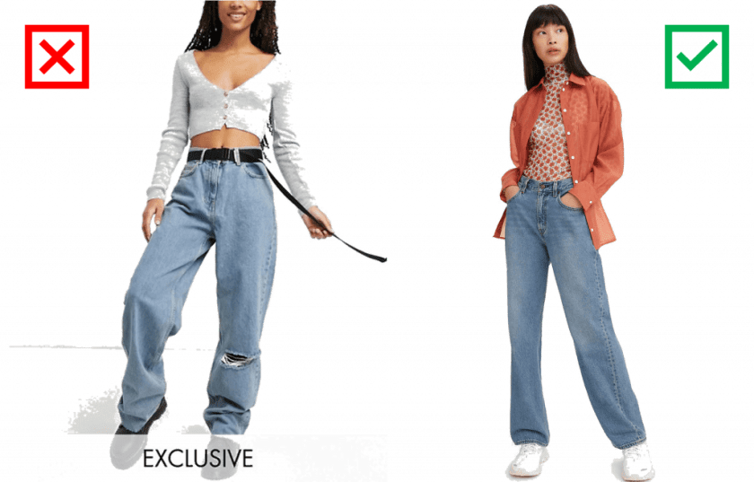 5 Tips for Wearing the Wide/Baggy Jean Trend