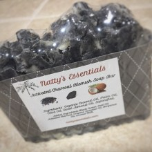 Activated Charcoal Blemish Soap Bars