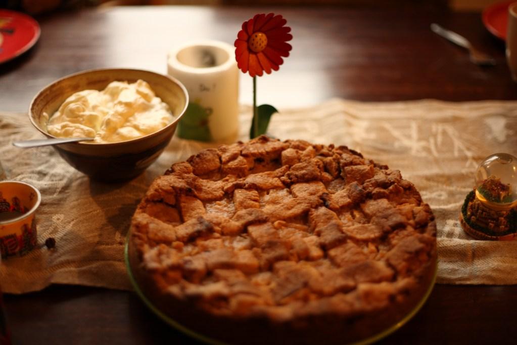 Apfelkuchen mit Füllung | Der beste aller Zeiten
