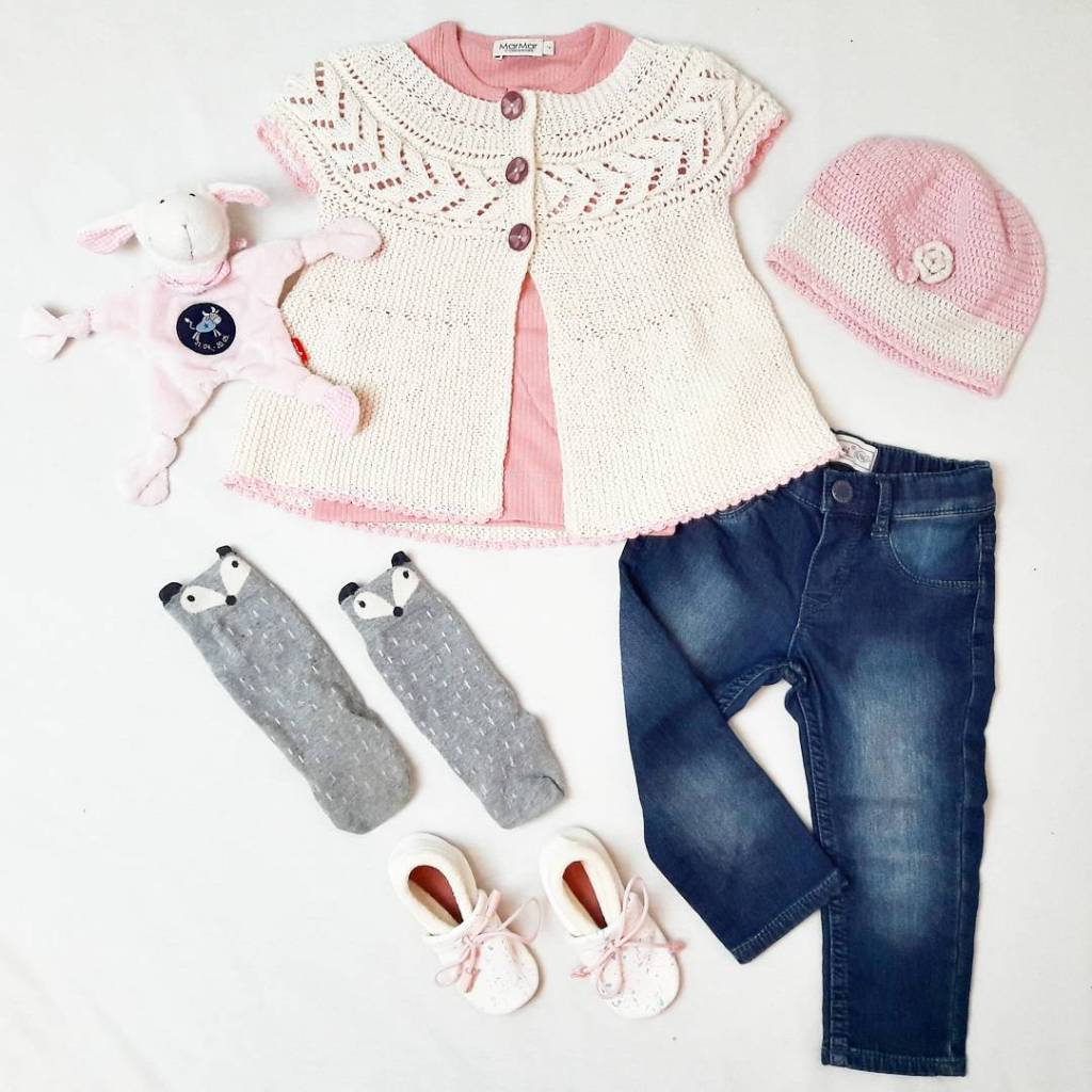 Outfit Mädchen Flatlay