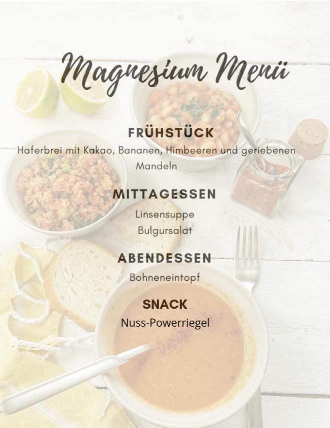 MagnesiumMenü