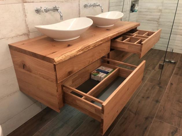 Waschbeckenunterschrank Für Aufsatzwaschbecken ...