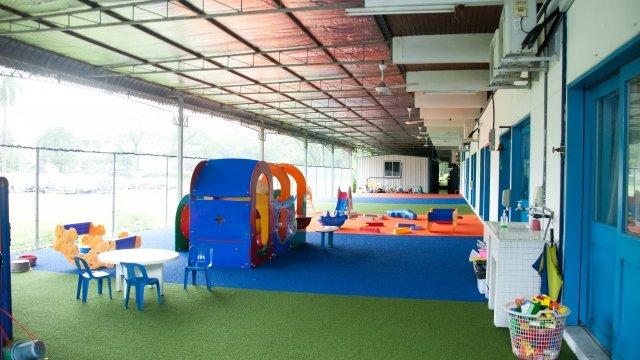 保育園の教室の写真