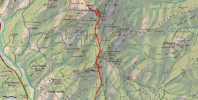 Mapa La Mola