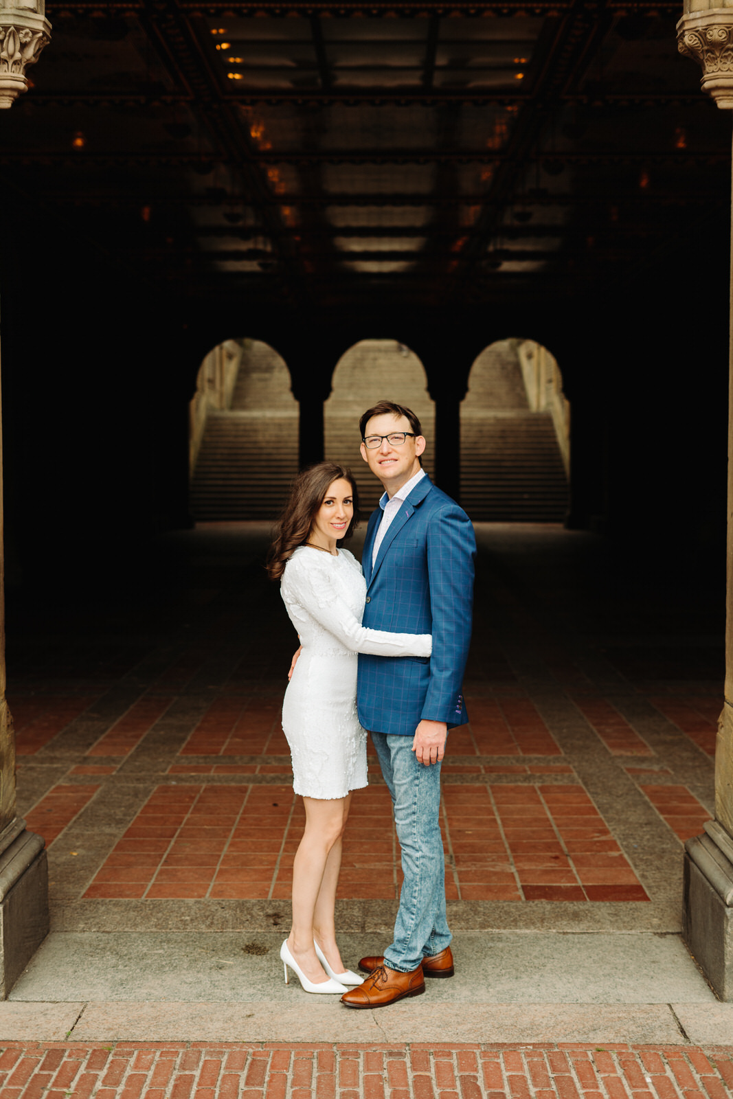Bethesda Terrace Engagement Photos, Central Park Engagement Session Guide, Where to elope in central park, Bethesda Terrace, Bethesda Arches, Bethesda Engagement Photos, Bethesda Engagement Photo Spots