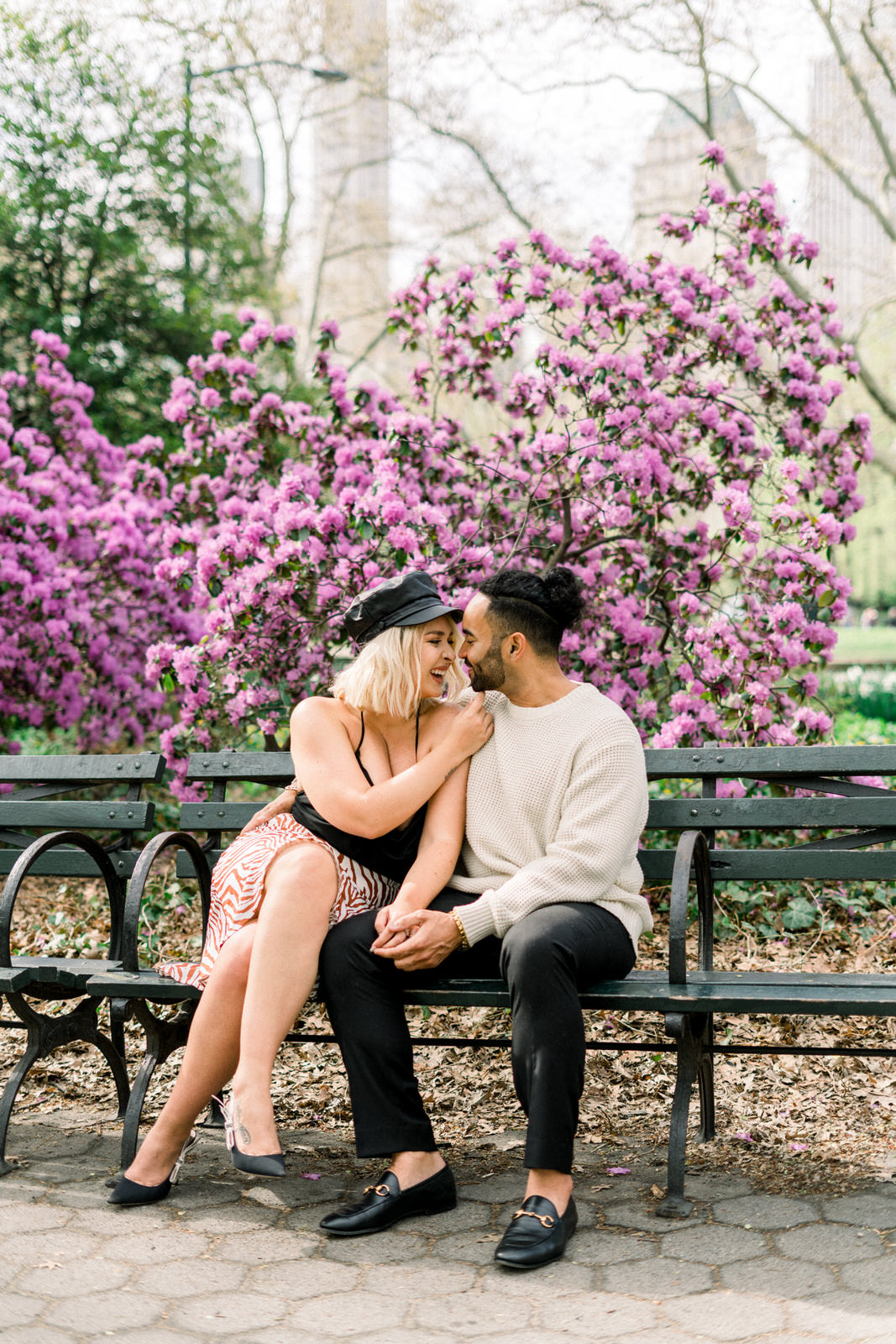 Spring in Central Park, Guide to the seasons in Central Park for Engagement Sessions