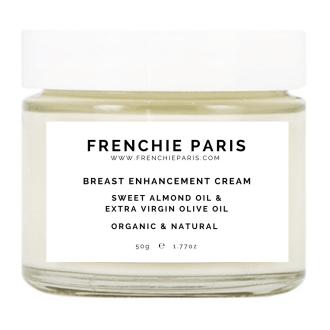Breast Enhancement Cream Natural & Organic Frenchie Paris