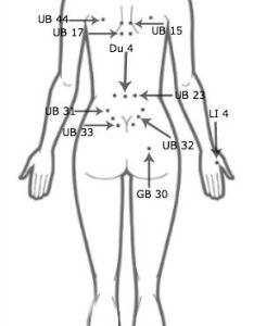 Acupressure back nfi center also improve fertility easily with rh natural info