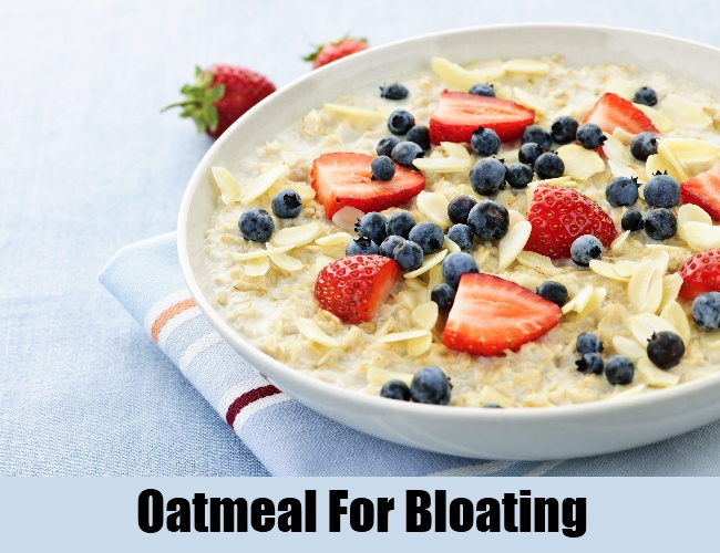 Oatmeal For Bloating