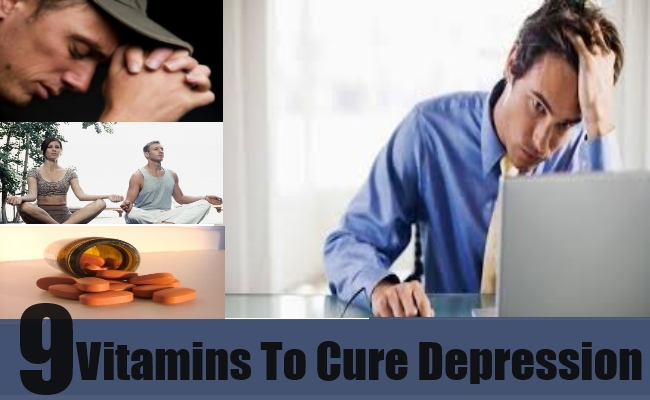 Vitamins To Cure For Depression