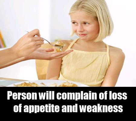 Loss Of Appetite And Weakness