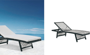 KUKO Sun Lounger Outdoor