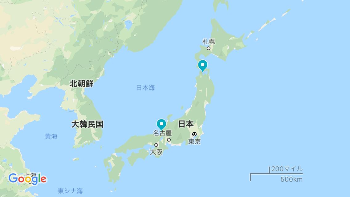 2019/04/28-05/05 自転車旅 福井県⇒青森県(日本海側ルート8日間)