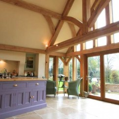 Oak Kitchen Chairs Chair And Table Rentals Near Me Framed House (stone & Extensions) - Natural Structures