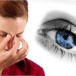 Боль в глазном яблоке