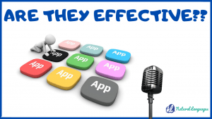 are language learning apps effective