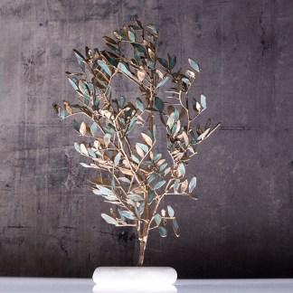 Διακοσμητικό χειροποίητο αληθινό δέντρο σχίνος