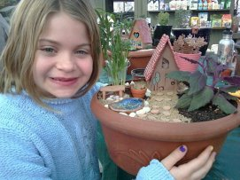 Miniature Garden made at Natural Art Garden Center