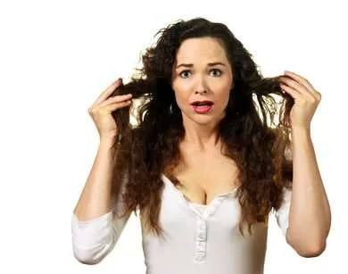 how to rid of frizzy hair fast