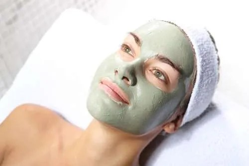 diy french green clay mask for face