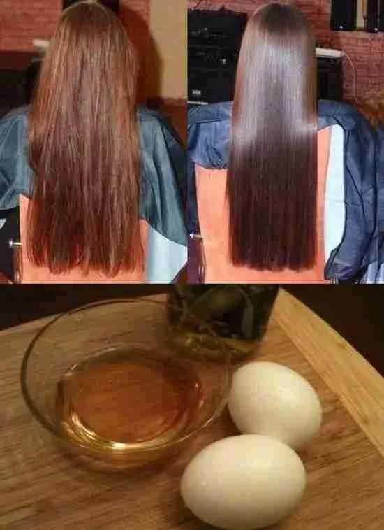 DIY Egg White Mask For Hair Care