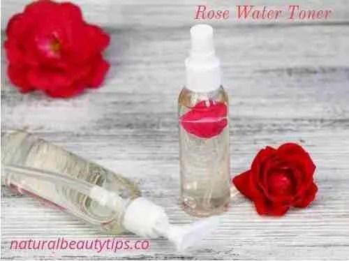 DIY Dry Skin Rose Water Toner