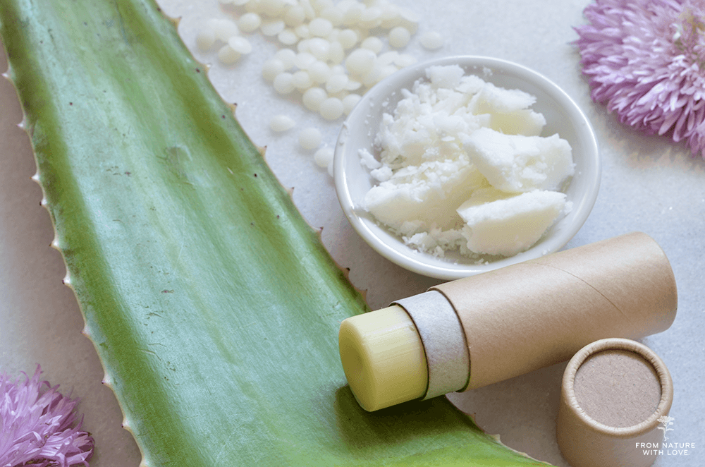Handmade Aloe and Tamanu Body Balm Recipe - Scented with Natural Lavender, Chamomile, and Sandalwood Essential Oils