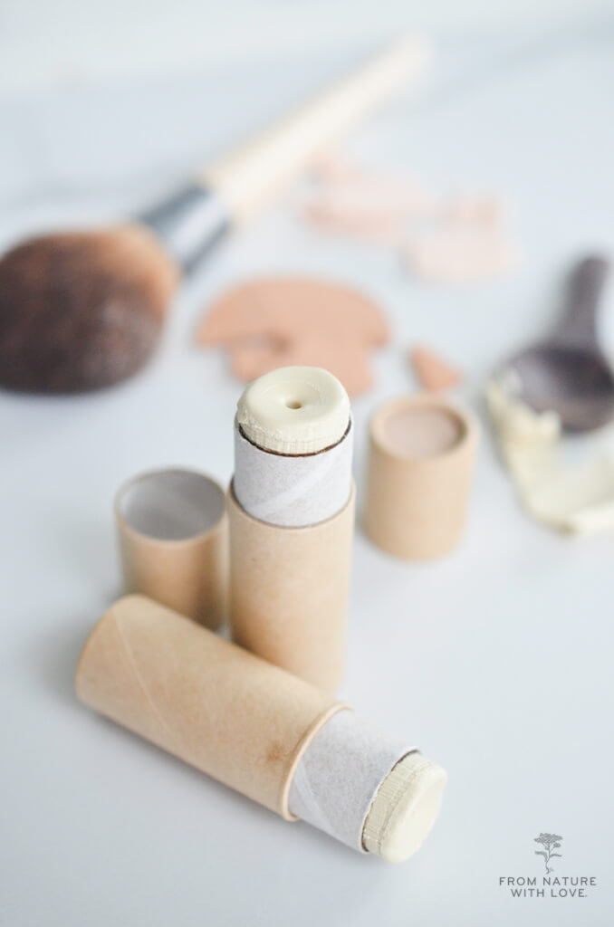Make Your Own Mineral Makeup Cream Highlighter - Shimmering Highlighter Stick Recipe & Tutorial