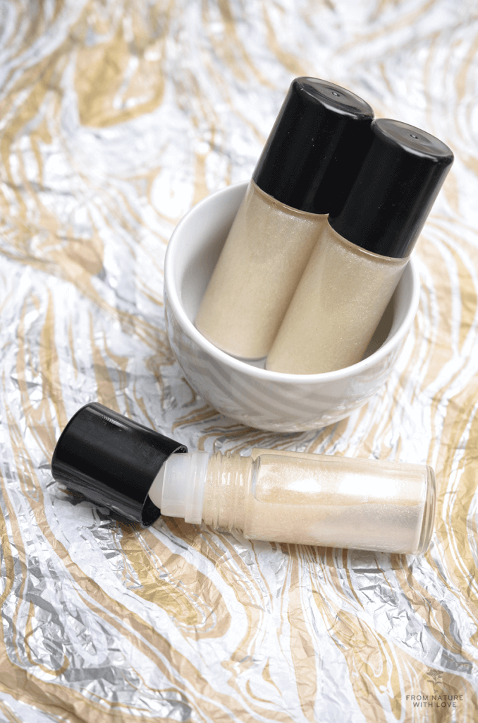 How to make Shimmering Sandalwood Body Oil
