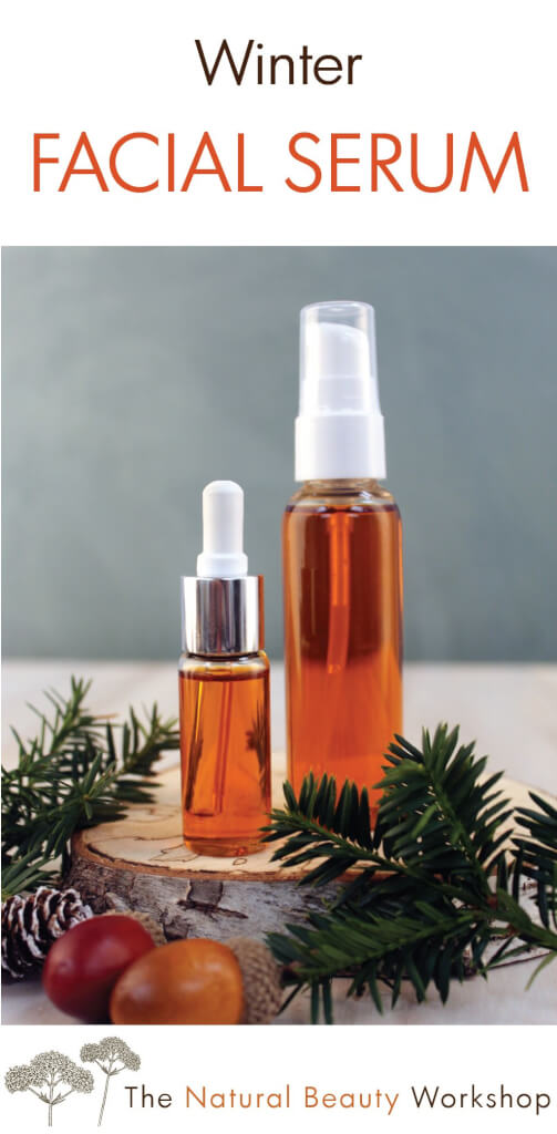 natural winter facial serum