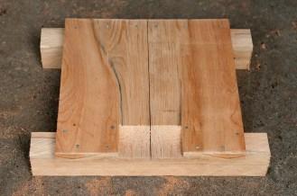 A durable scalloped floor