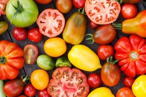 Tomato on your skin are a wonderful antioxidant