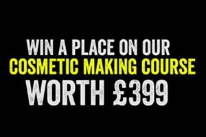 Cosmetic Making Course win a place
