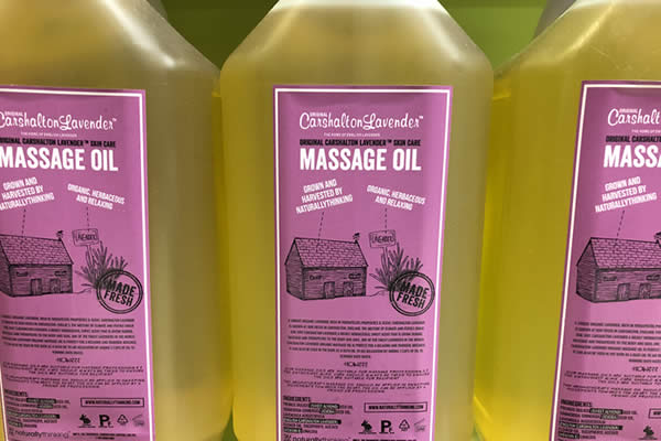 Massage Oil 5 Litres for Therapists