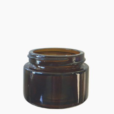 30ml amber glass jar