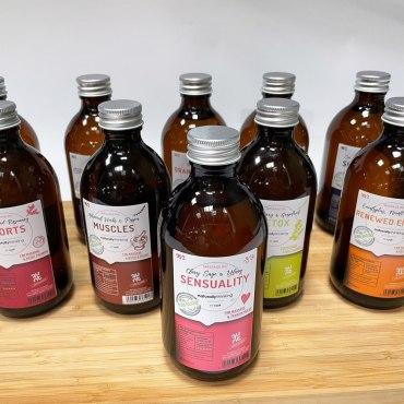 Massage Oil Aromatherapy massage set contains 5 massage oils