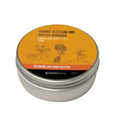Orange Blossom and British Burdock Root Body Butter