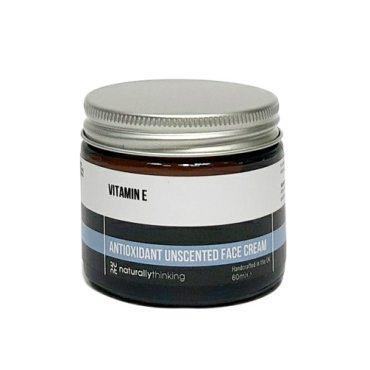 Our Vitamin E moisture cream, rich in Vitamin E. Fragrance and parabens free with natural moisturising oils