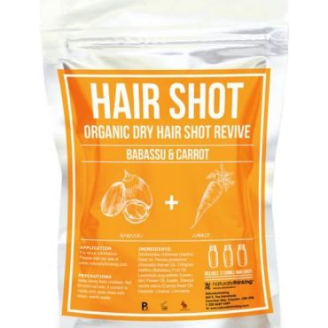 Organic Babassu and Wild Carrot to revive dry hair, Restore vitality with our superfood of oils, pure hair hydration