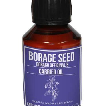 Borage Seed Carrier Oil, Cold Pressed for the richest commercial plant source of Omega 6