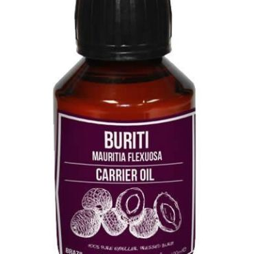 With the highest natural content of beta-carotene (natural Vitamin A), Buriti is suited for use on sun damaged skin, sun exposed skin and skin prone to Acne. Buriti has a natural SPF of 8