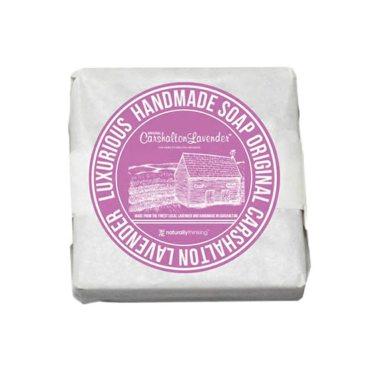 Original Carshalton Lavender Soap handmade from natural Lavender