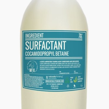 Cocamidopropyl betaine surfactant for flash foam
